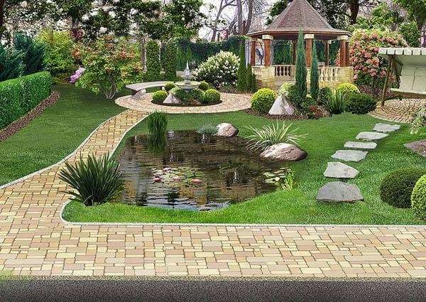 Yard design in Mississauga