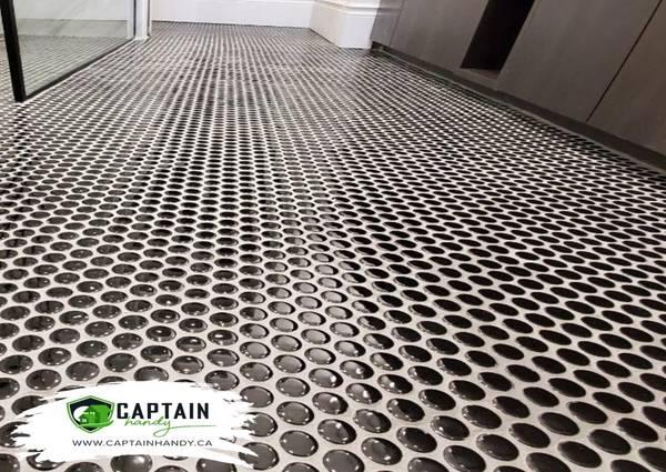 Bathroom flooring in Toronto