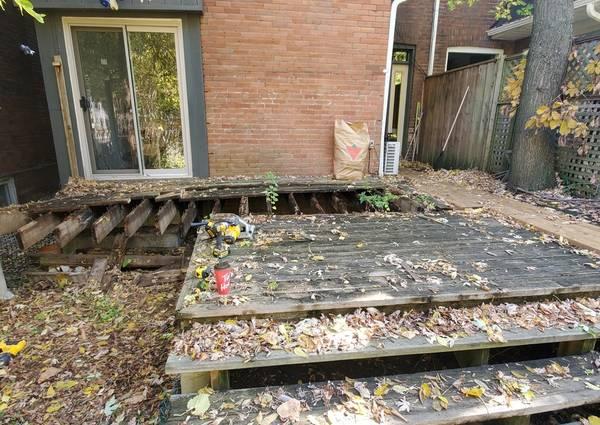 Demolition of foundations in Toronto