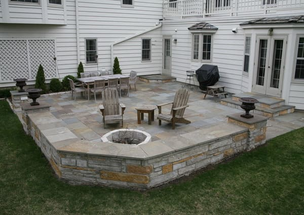Stone patio in Toronto