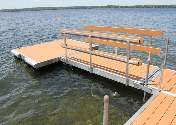 Building water dock in Toronto