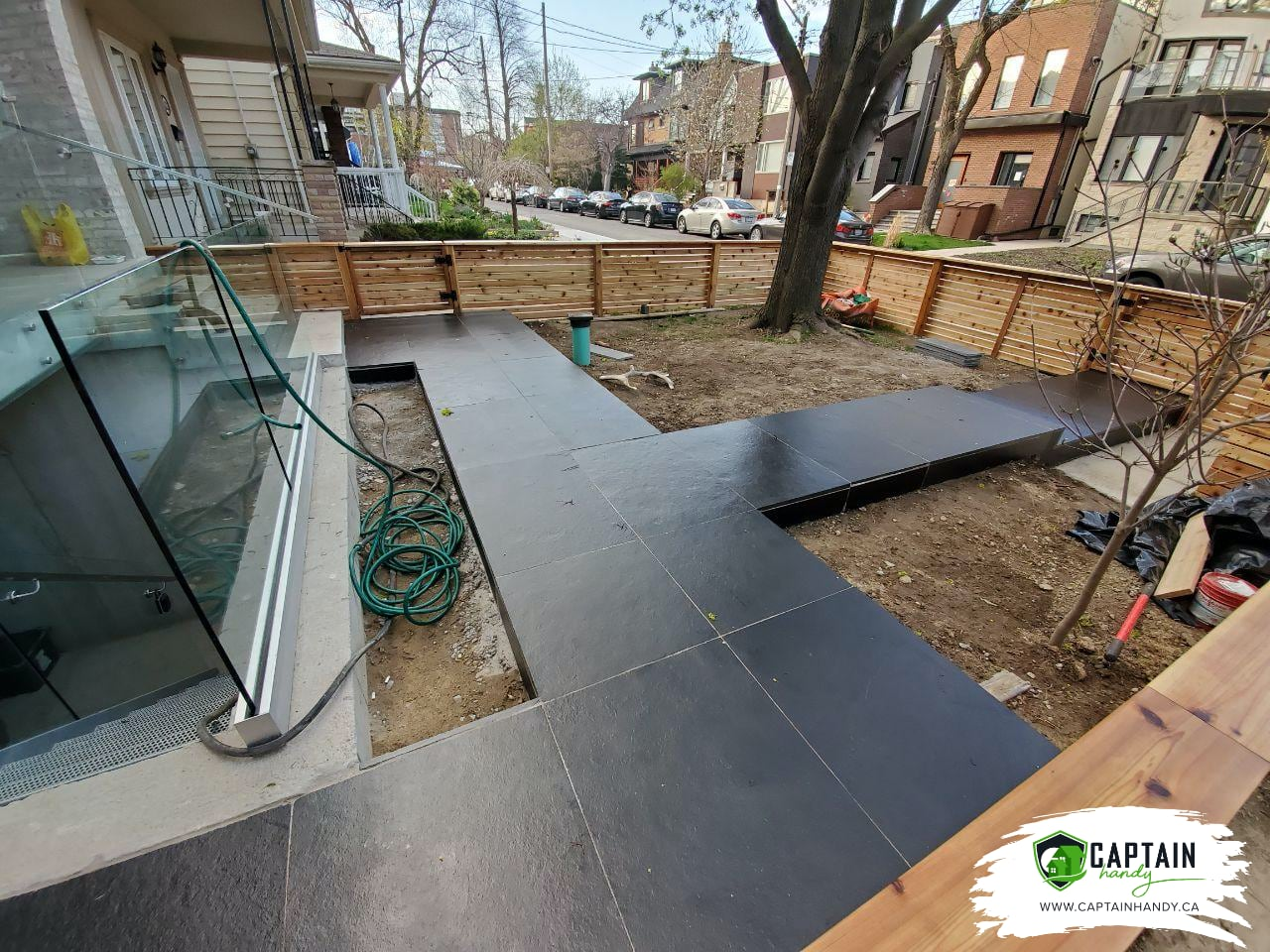 Backyard Landscaping East York