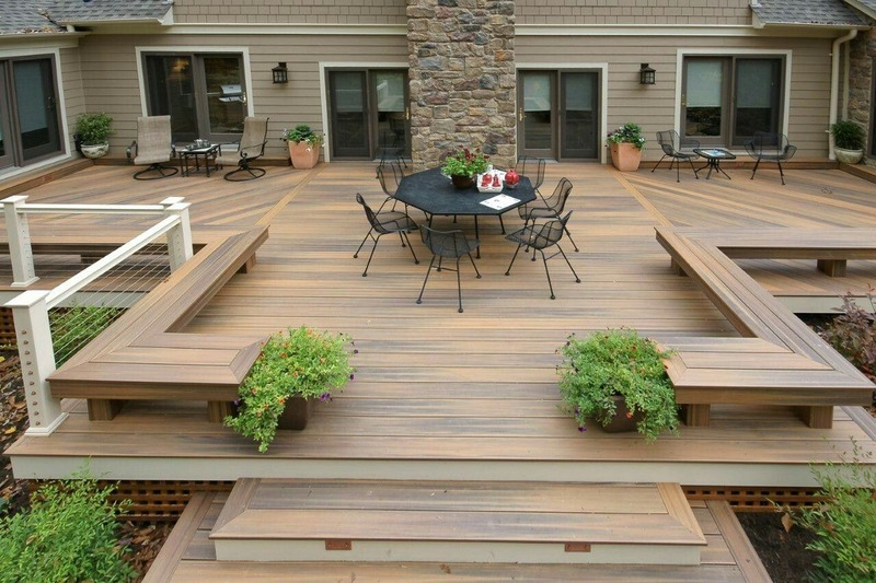Backyard Patio Interlocking