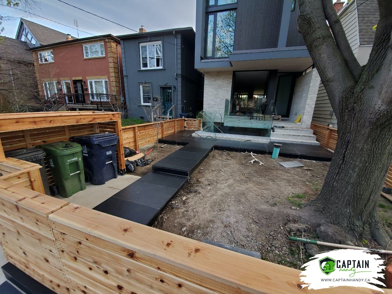 Backyard Renovation in East York