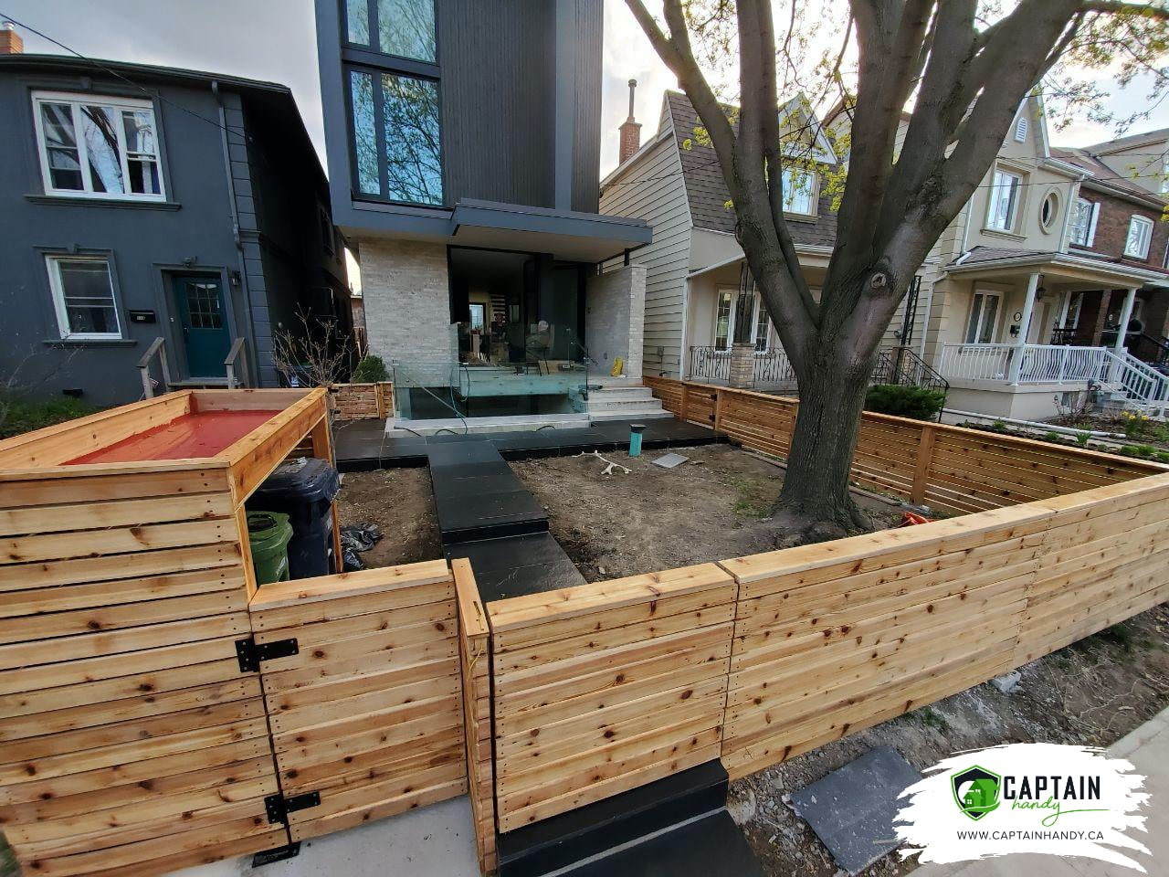 Backyard Renovation in North York