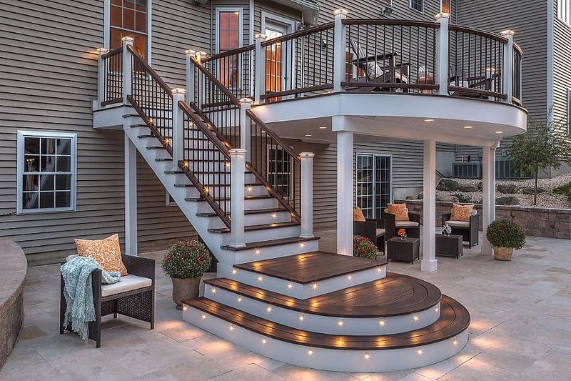Decks steps