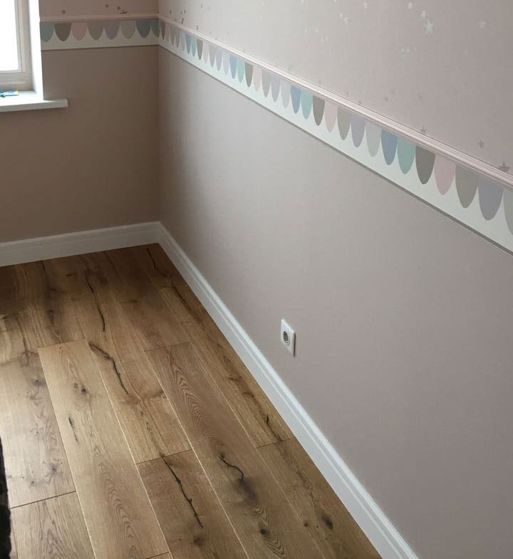 Laminate installation in Aurora