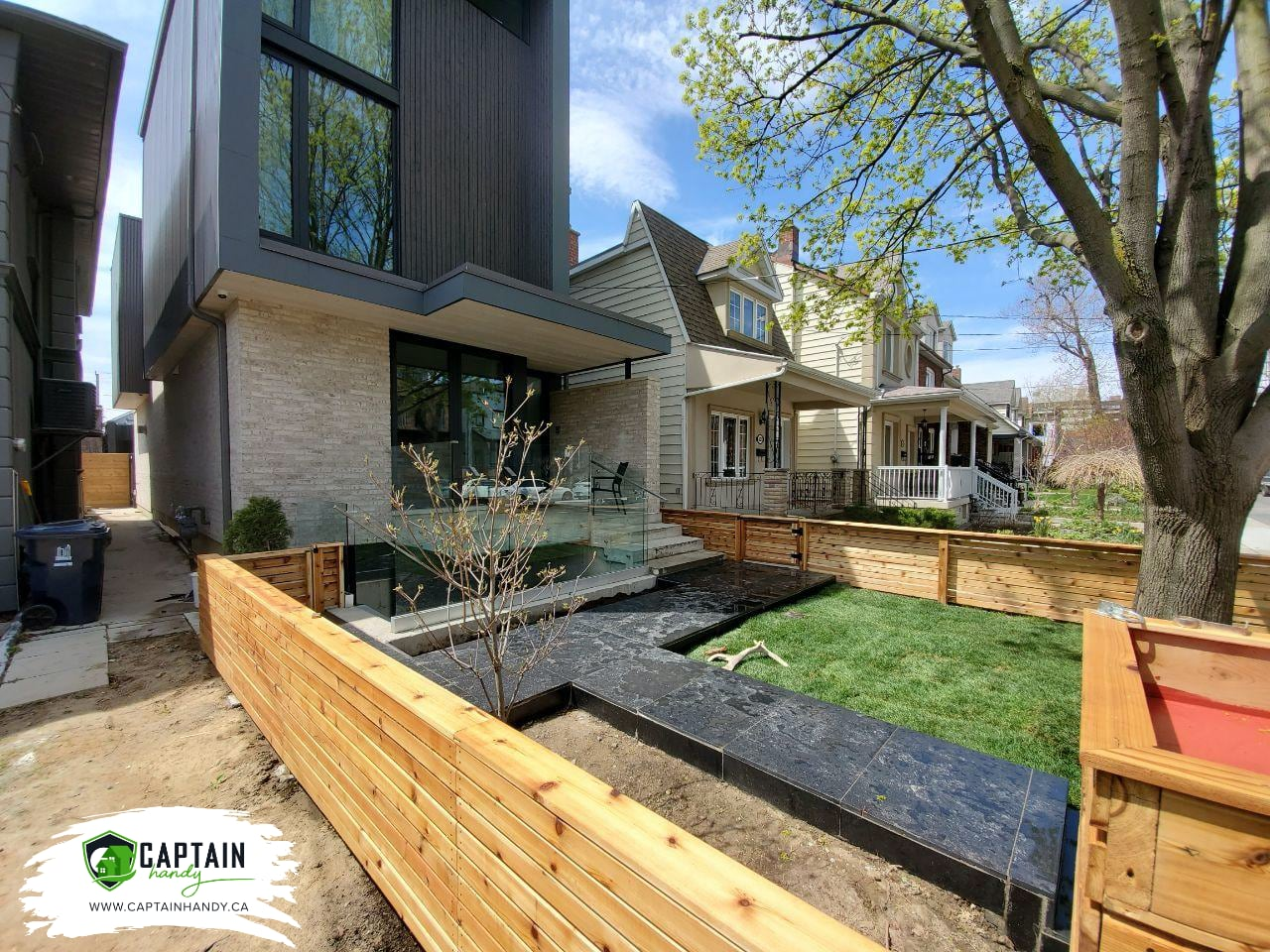 Landscaping a Front Entry Toronto
