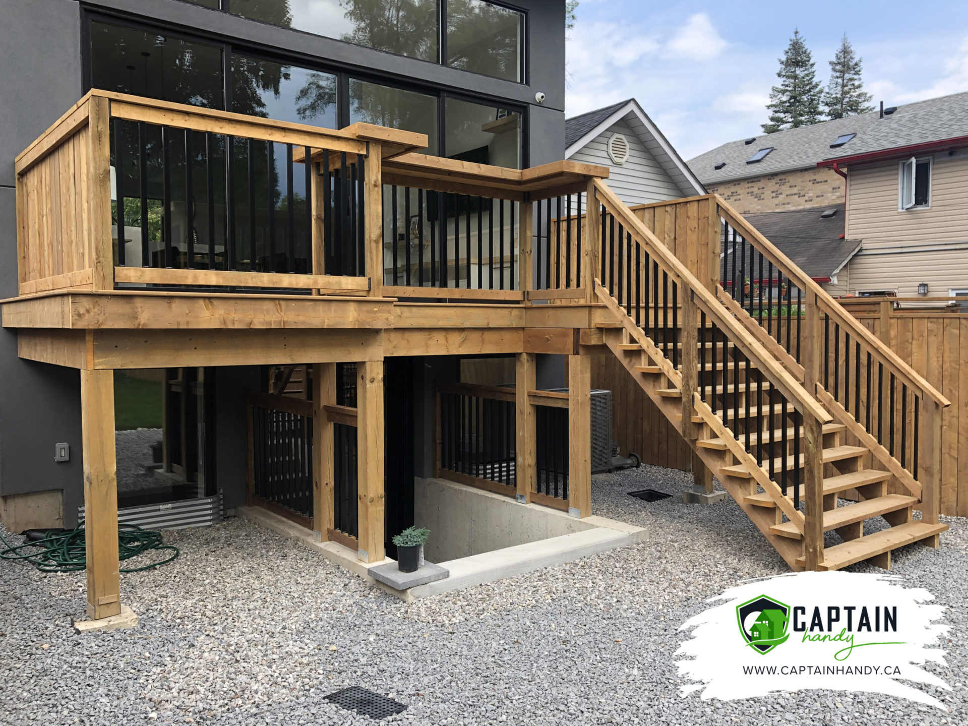 Stairs installation in Brampton