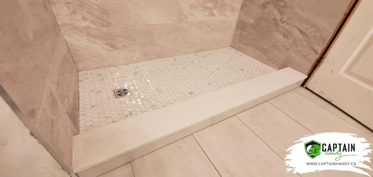 bathroom flooring in Brampton
