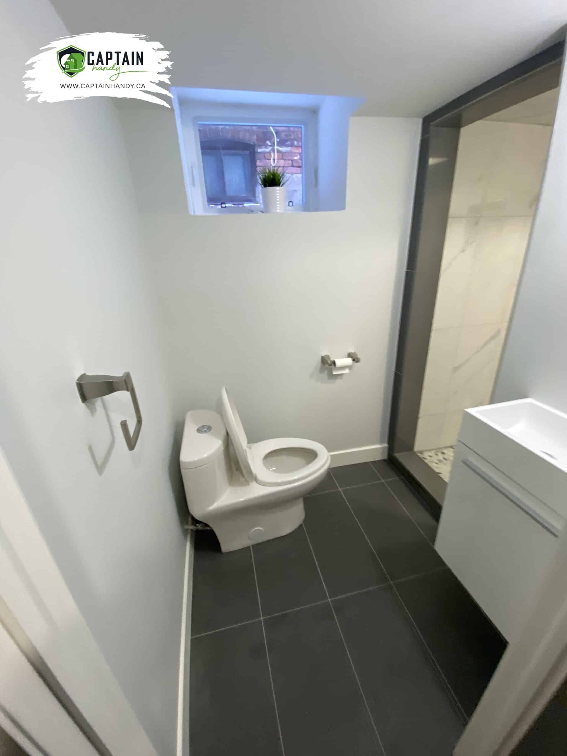 bathroom flooring in Caledon