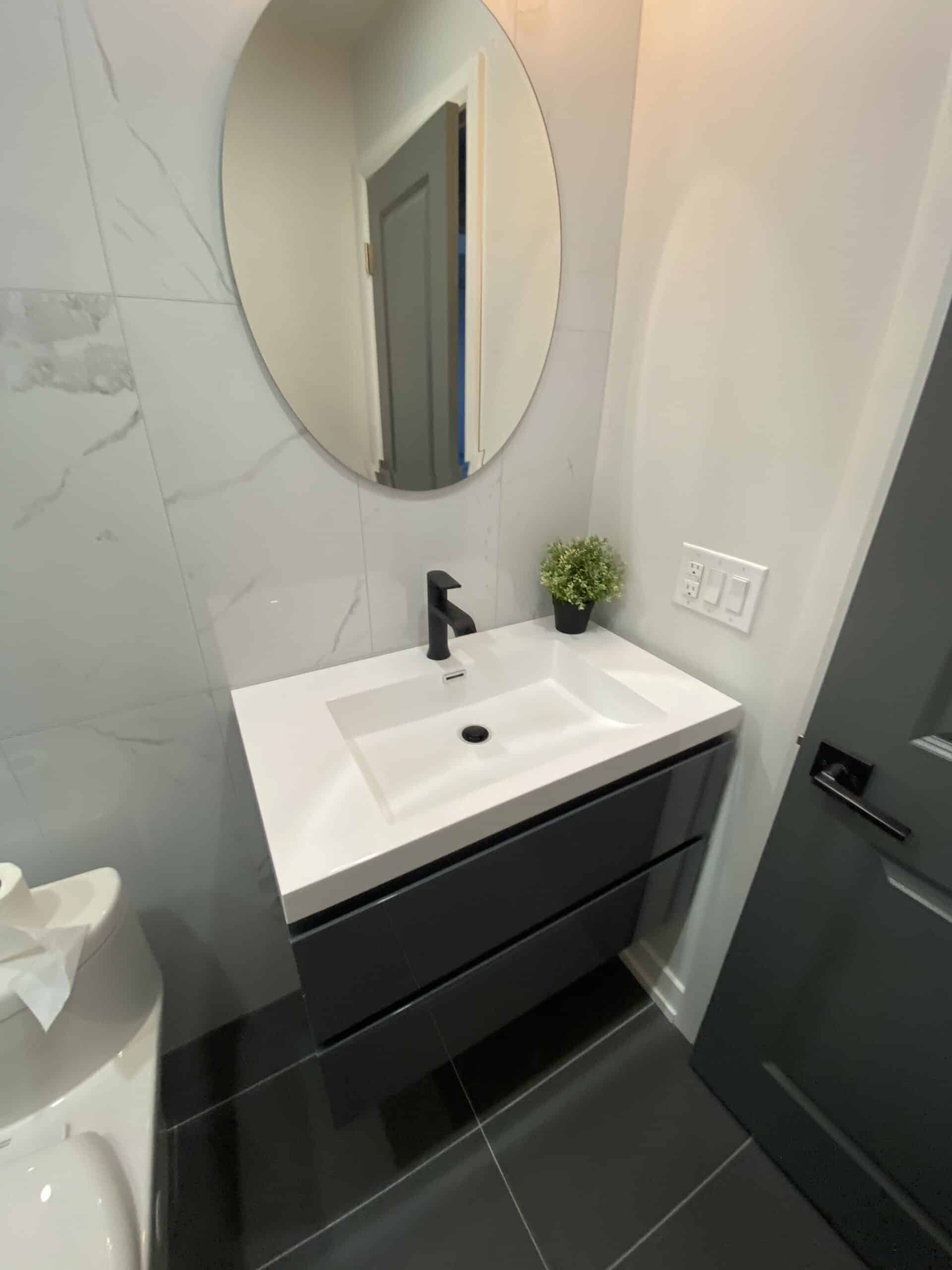bathroom flooring in Richmond hill