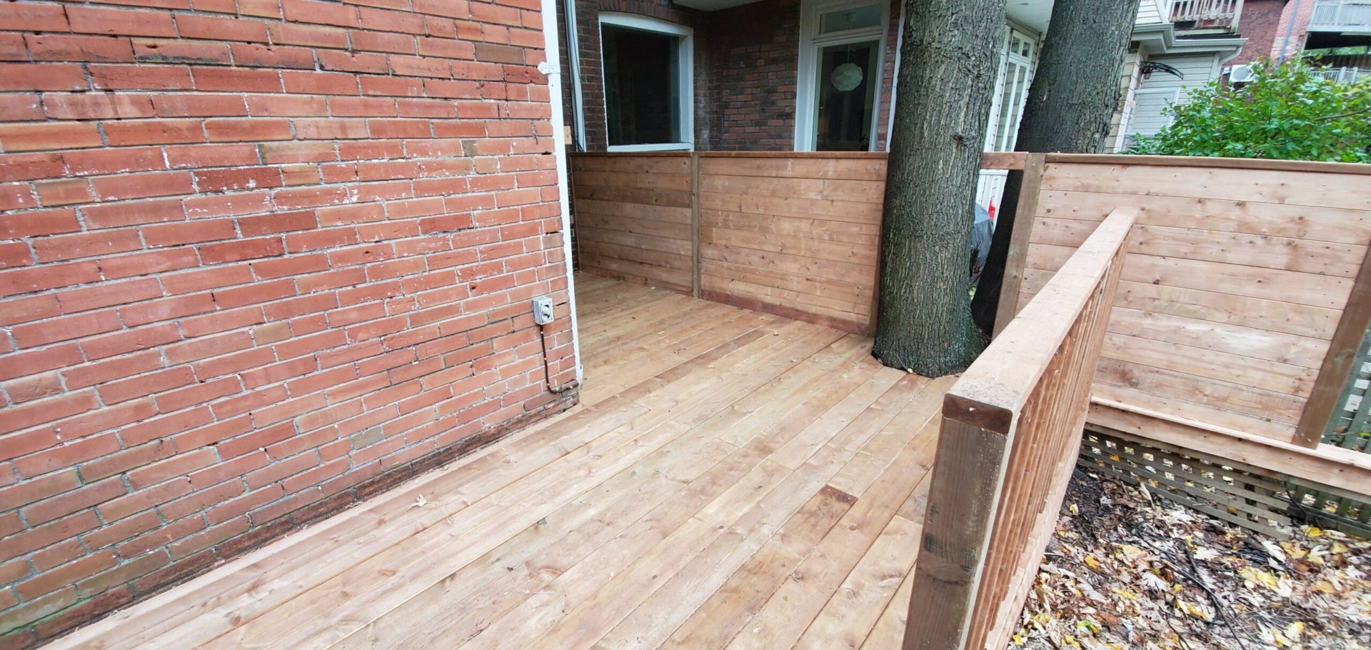 deck installation in Bolton