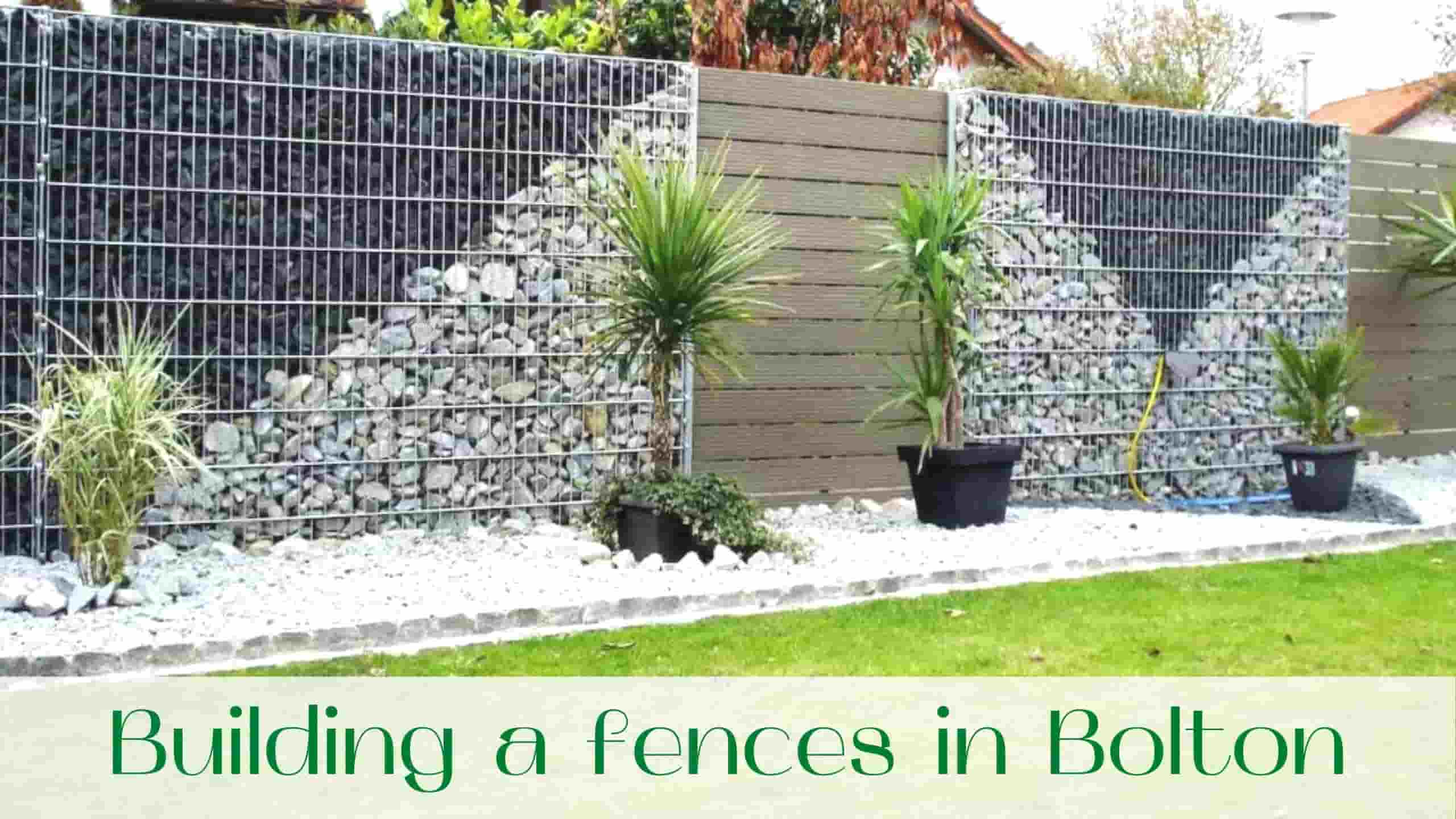 fences in Bolton