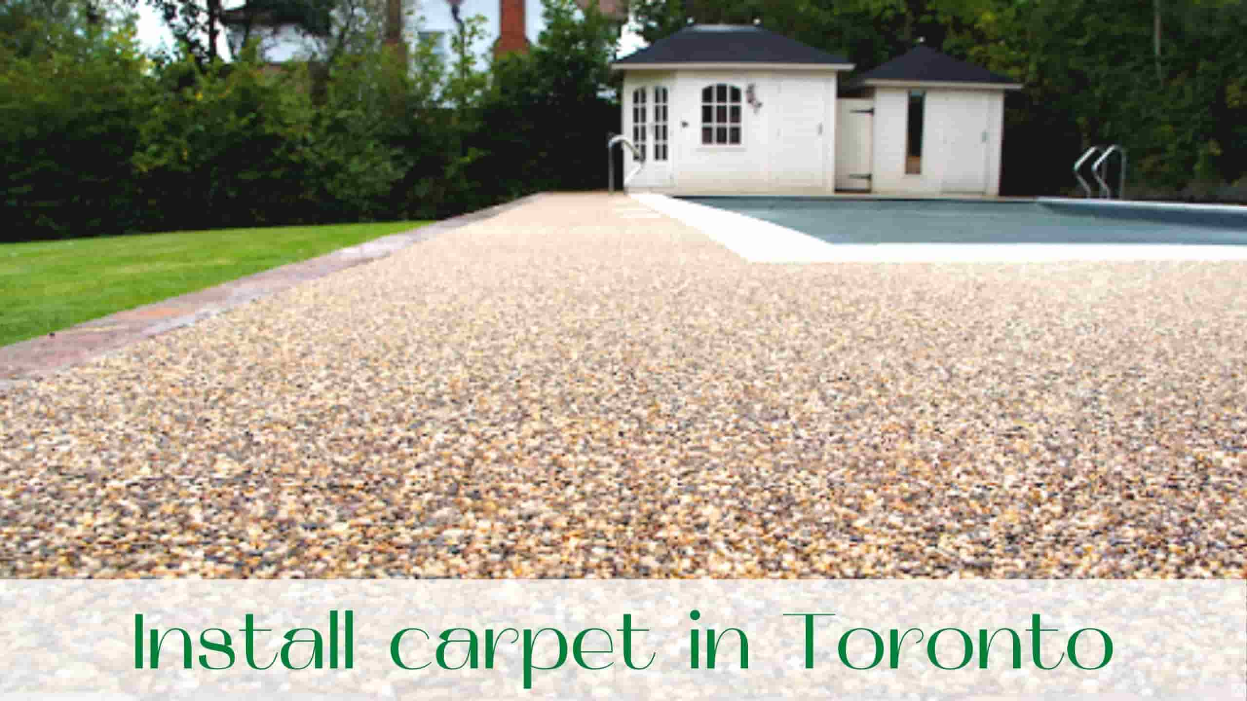 Install carpet in Toronto