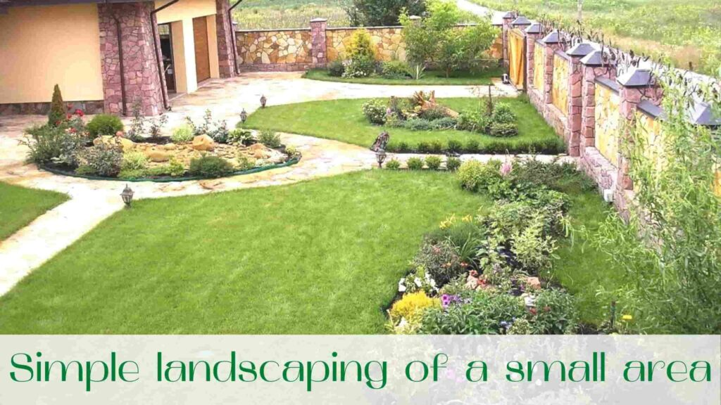 image-Simple-landscaping-of-a-small-area