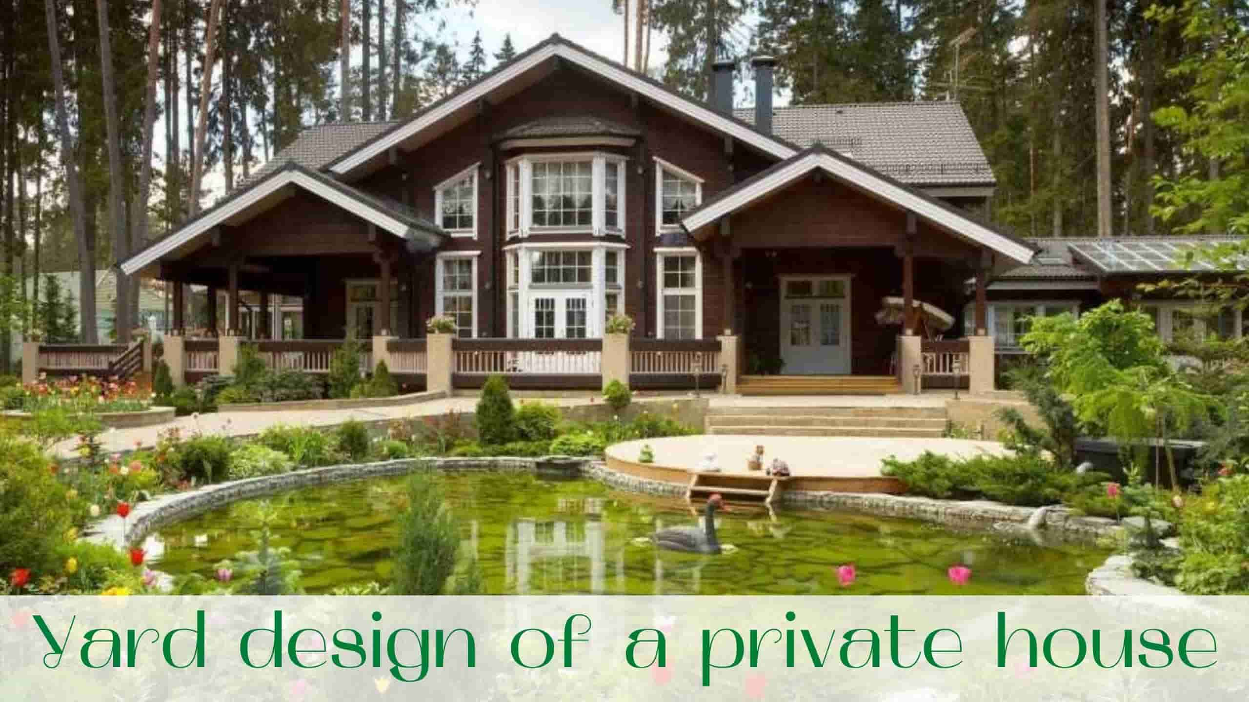 image-Yard-design-of-a-private-house
