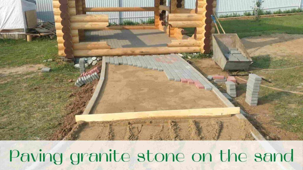 image-paving-granite-stone-on-the-sand