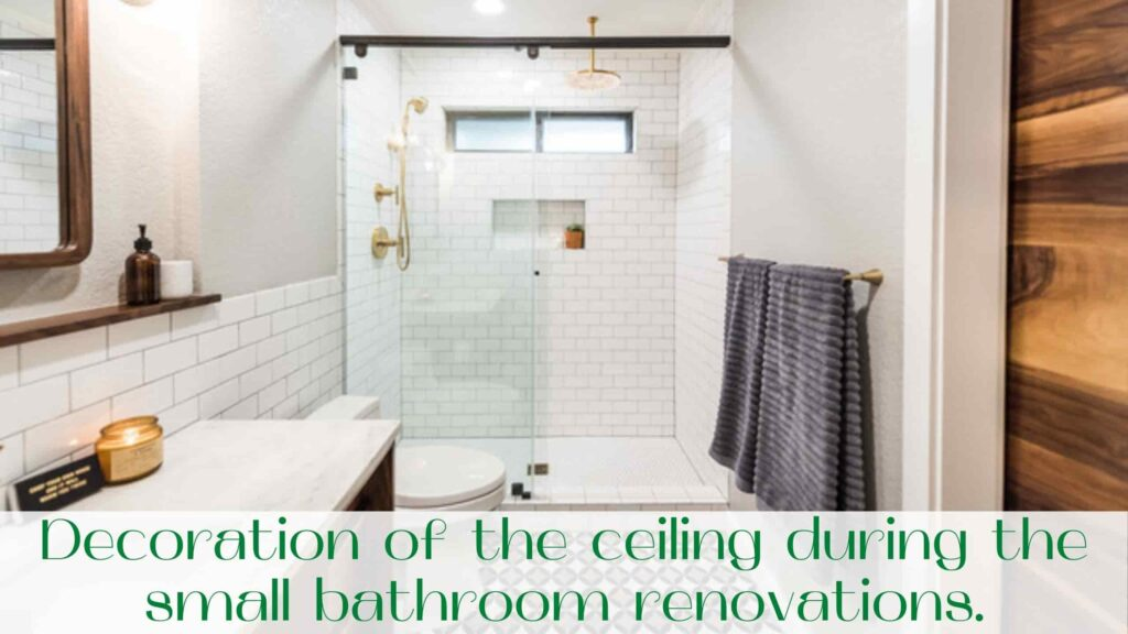 image-Decoration-of-ceiling-during-a-small-bathroom-renovations