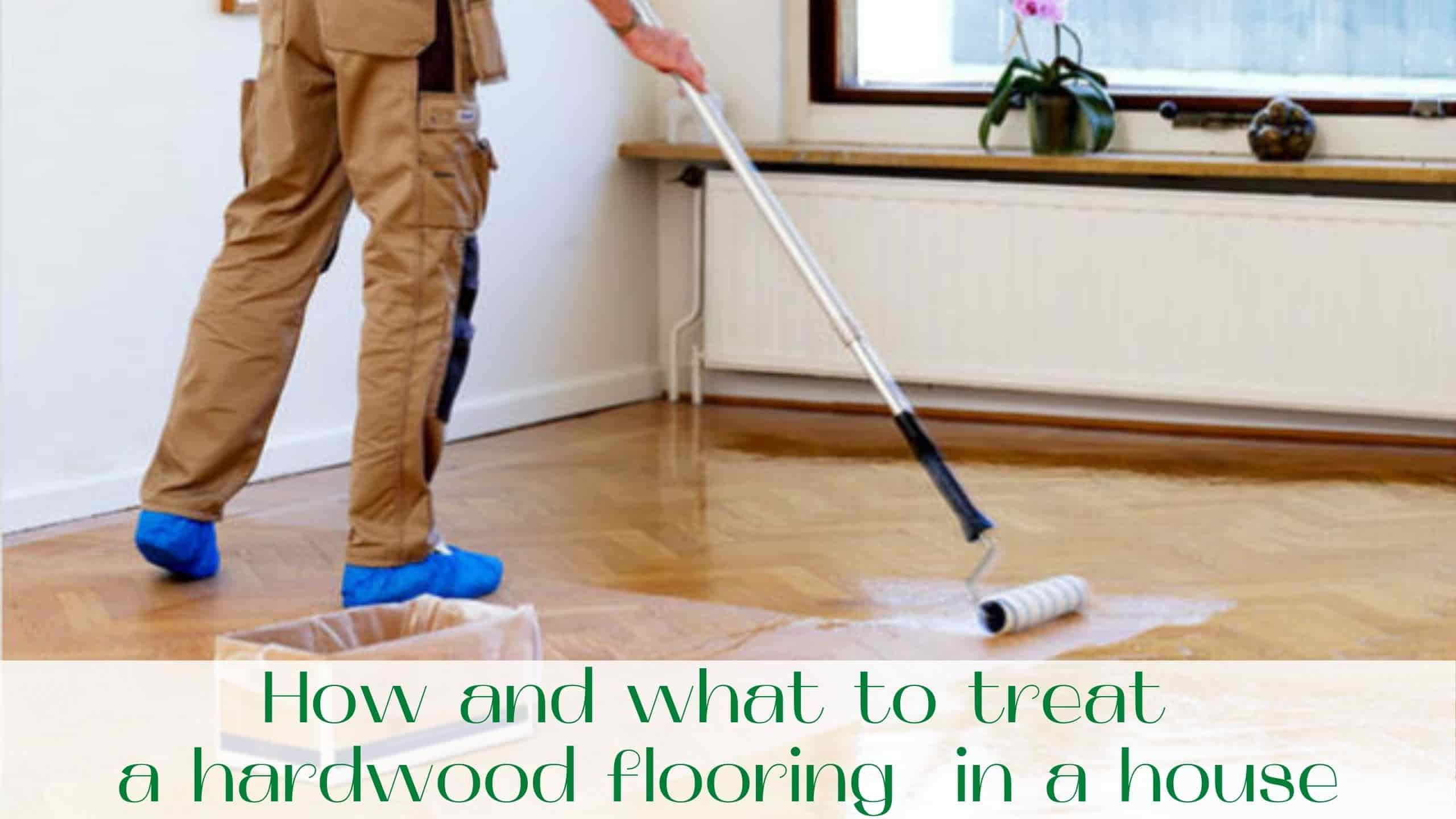 image-How-and-what-to-treat-a-hardwood-flooring-in-a-house