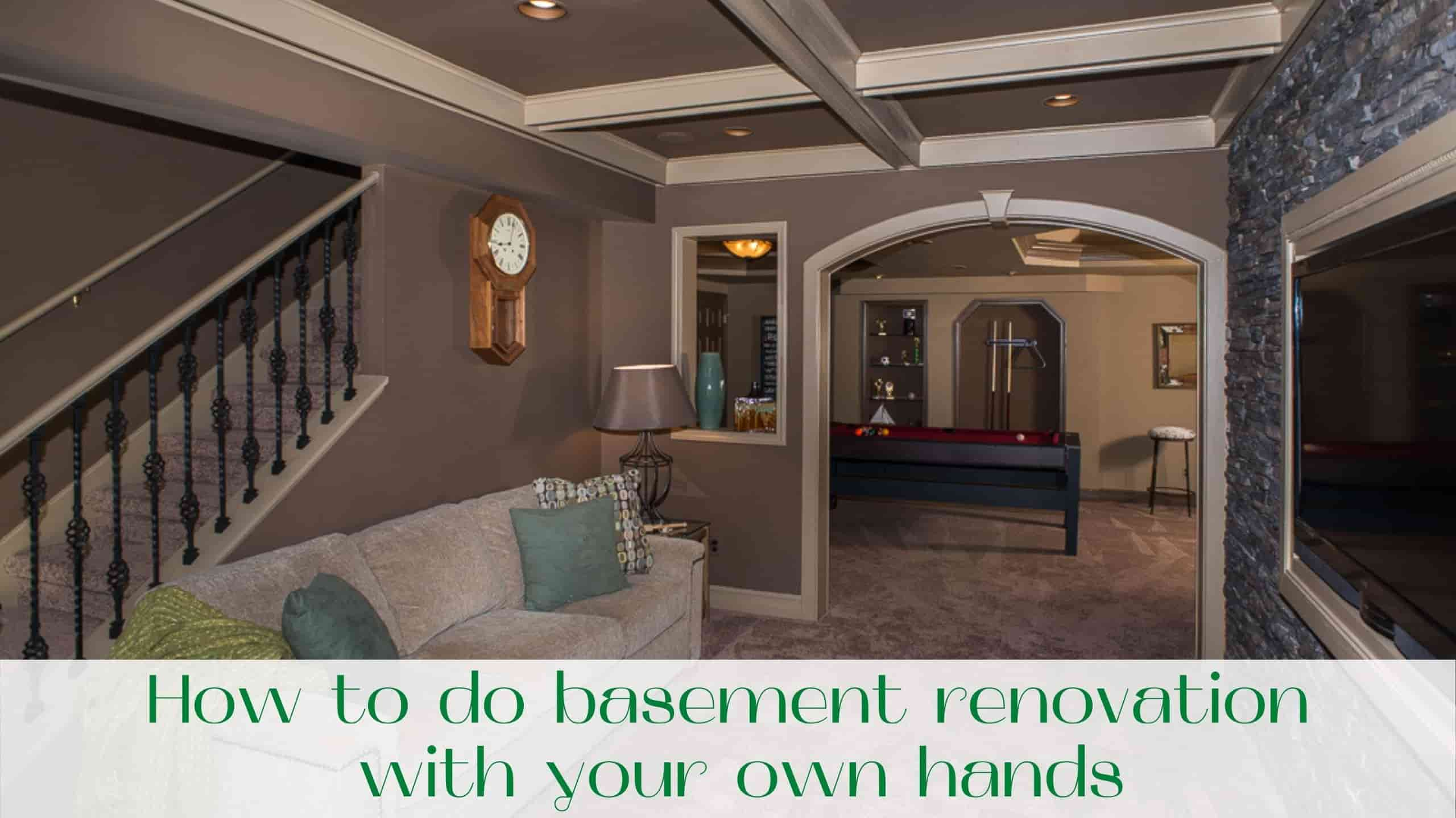 image-How-to-do-basement-renovation-with-your-own-hands