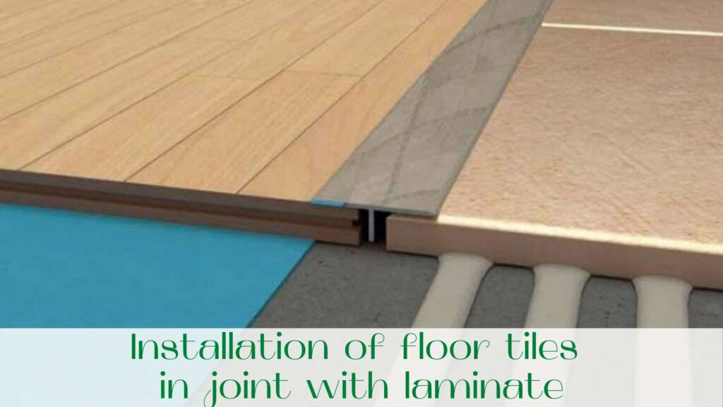 image-Installation-of-floor-tiles-in-joint-with-laminate