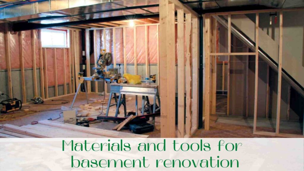 image-Materials-and-tools-for-basement-renovation-in-Ontario