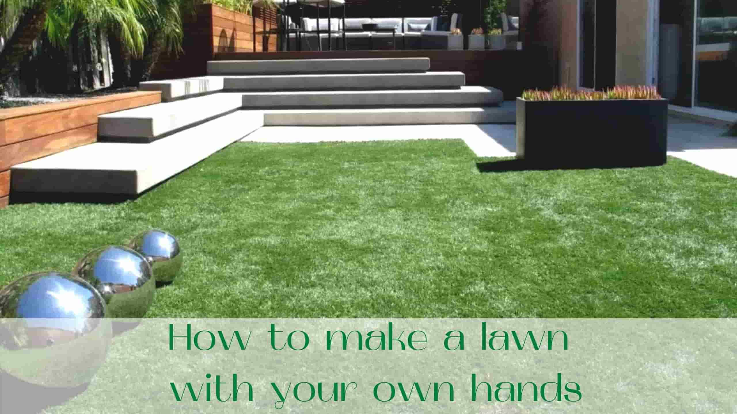 image-How-to-make-a-lawn-with-your-own-hands